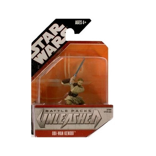 Star Wars Unleashed Battle Pack Singles Obi-Wan Kenobi Action Figure