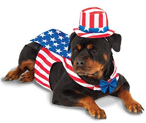 Rubie's Uncle Sam Big Dog Boutique Costume, -