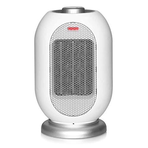 Calentador Eléctrico Oscillatin 1200W / 700W Calentador Del Ventilador Del Calentador De Espacio, Calentador De Escritorio...