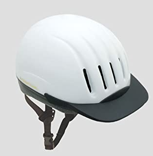 Ultra-Lite Equi-Lite Helmet with Dial-Fit-System, White,