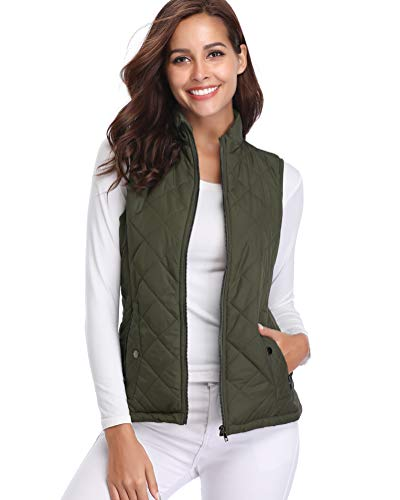 fuinloth Women's Padded Vest, St...