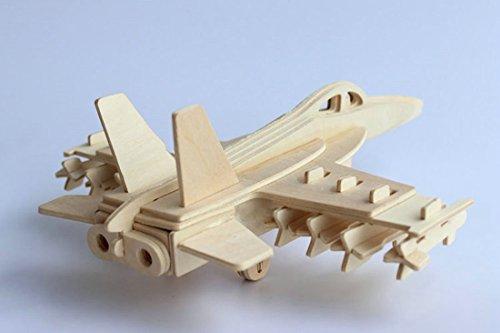 Woodcraft Construction Kit 3d Puzzle - 2