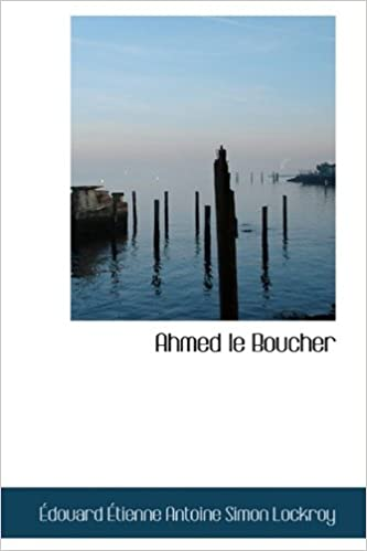 Book Ahmed le Boucher