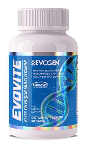 Evogen Evovite | Elite Sport Multivitamin with Beta-alanine & Curcumin | 30 Day Supply For Sale