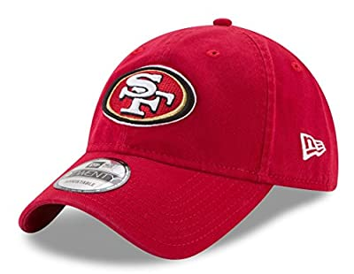 New Era San Francisco 49ers NFL 9Twenty Team Sharpen Adjustable Hat by New Era Cap Co,. Inc.