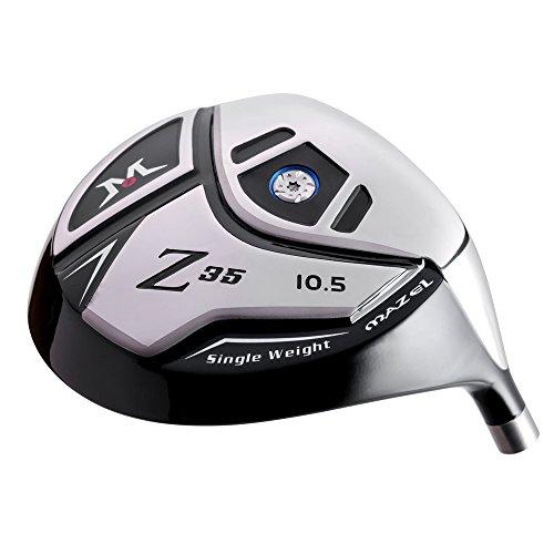 (MAZEL Titanium Golf Driver Head,Loft 10.5 Degree,Only Golf Head Without Shaft)