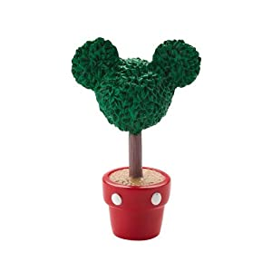 Department 56 Disney Village Mickey Topiary General Accessory, 2.375 inch