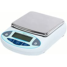 U.S. Solid Digital Analytical Balance Electronic Lab Scale 0.01 g LCD (5000g)