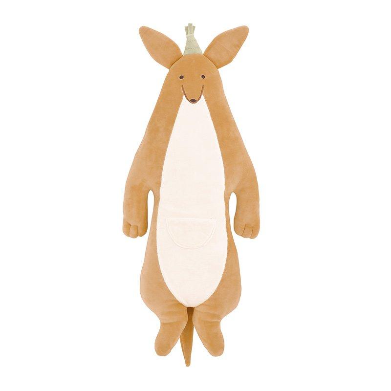 LivHeart Roomies Party Body Pillow Kangaroo (33x63cm) 48151-13