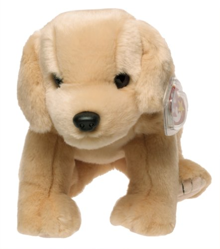 3e052c9091e Amazon.com  TY Beanie Buddy - FETCH the Golden Retriever Dog  Toy   Toys    Games