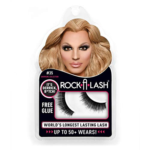 Rock-a-Lash Showgirl Drag Queen False Lashes - Long