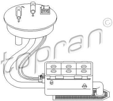 Pompe a carburant Citroen ZX 1.9i