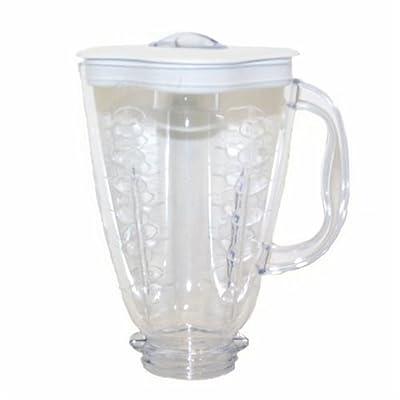 Oster Plastic Blender Jar, Clover Leaf Shape