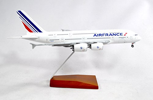 GeminiJets Air France Airbus A380-800 Diecast Airplane Model F-HPJJ With Stand 1:400 Scale Part# GJAFR1665