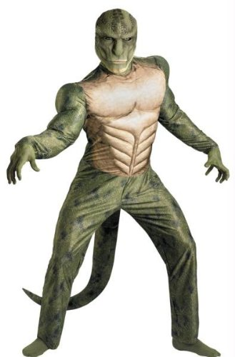 Costumes For All Occasions DG42507D Lizard Classic Muscle Ad 42-46