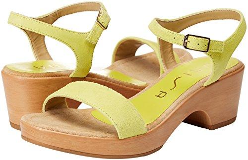 Femme Vert Sandales 18 Unisa leaf ks Irita xqwfI4RHnI