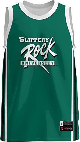 (ProSphere Slippery Rock University Men's Replica Basketball Jersey - Classic FFA8)