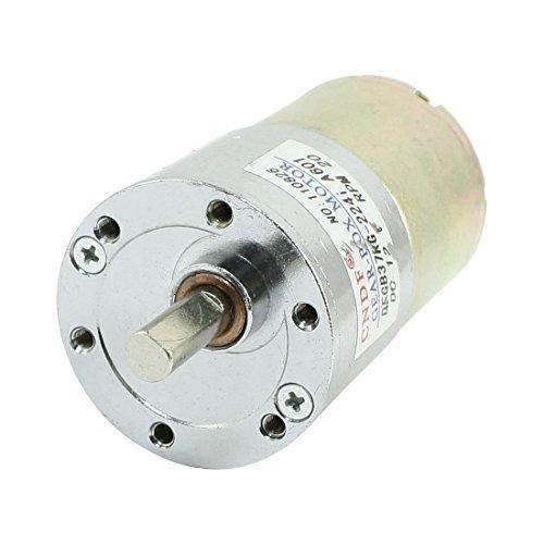 Amazon.com: eDealMax Motor Forma DFGB37RG-224i Cilindro DC 12V velocidad 20 RPM Orientado: Automotive
