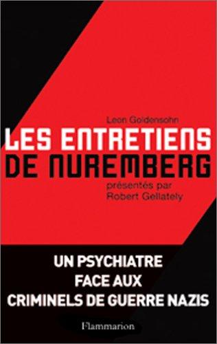 Download Les entretiens de Nuremberg (French Edition) pdf epub