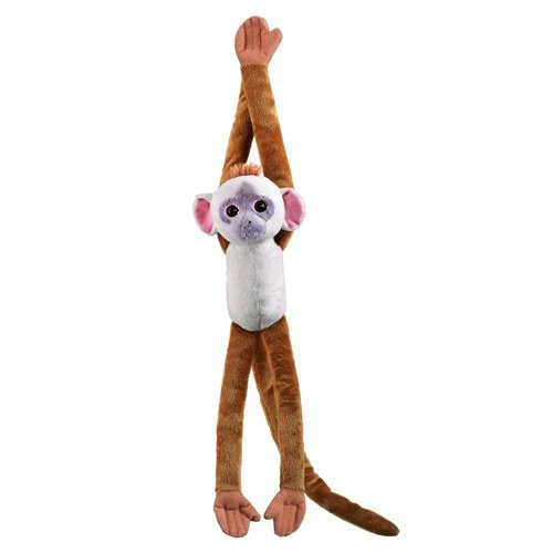 Amazon Com Mitered Leaf Plush Monkey With Hook And Loop Hands And