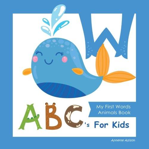 Flash Animals Cards Alphabet - My First Words Animals Book ABC's for Kids: Alphabet Book, ABC Book, Baby Book, Toddler Book, Children Book / Boys&Girls , Animal Cartoon Comics&Graphic,Full-color illustrations (Volume 2)