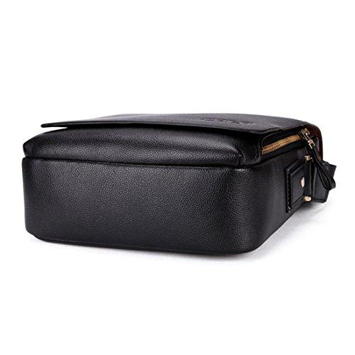 VICUNA POLO - Bolso al hombro para hombre negro negro 17*19*7cm negro