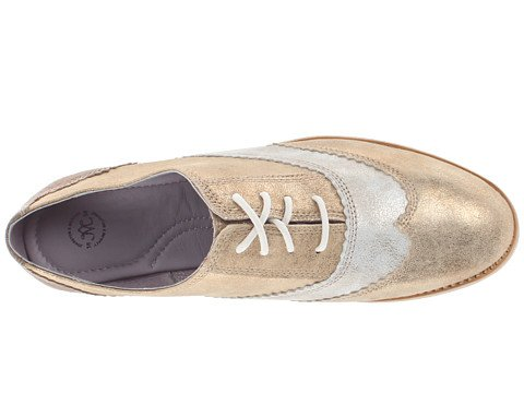 Johnston & Murphy Mujeres Belinda Multi Oxford Platinum / Blanco / Champagne Oxford 6 M