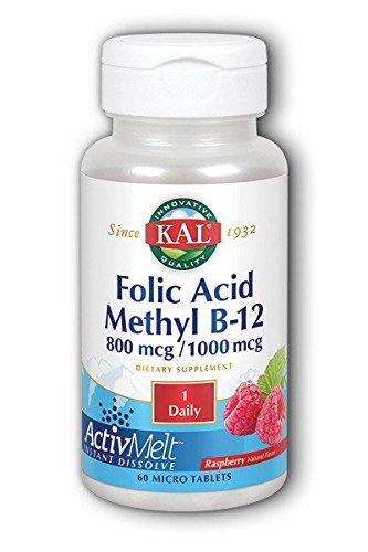 Folic Methyl Tablets Raspberry Count