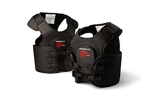 Armadillo - Go Kart Racing Rib Vest / Protector and Chest Protector - By Team Valhalla (Junior II Size:30-35'') by Team Valhalla Racing