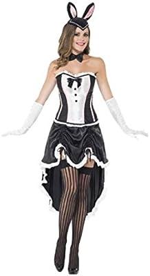 NET TOYS Traje de conejita de Burlesque Disfraz cancán ...