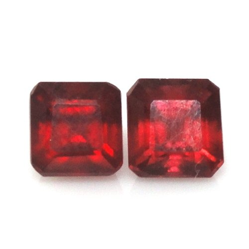 Natural Madagascar Ruby Approximately 2.43 Carat Cushion 5x5mm (3059)