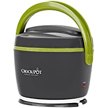 New Crock-Pot® SCCPLC200-GY Lunch Crock® Warmer, 20 oz - Grey and Lime