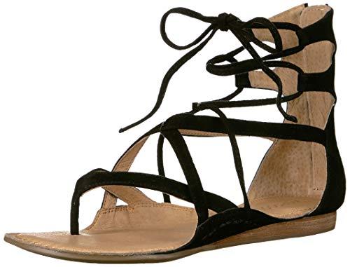 Suede Sandals Aerosoles (Aerosoles Women's Scrapbook Sandal, Black Suede, 8.5 M US)