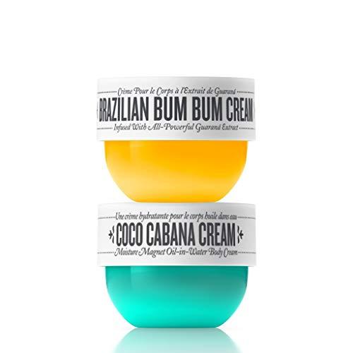 Sol de Janeiro Double Treat: Brazilian Bum Bum + Coco Cabana Cream Duo (2 piece Bundle) 75ml Each