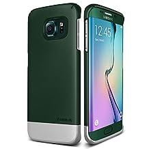 Galaxy S6 Edge Case, Verus [Two Tone Slide] Samsung Galaxy S6 Edge Case [2Link][Emerald Green]
