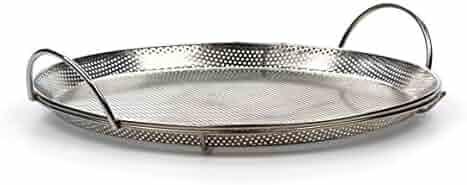 RSVP Endurance 18/8 Stainless Steel Precision Pierced Pizza Pan (BQ-PZA)
