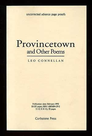 Freepdf Download Provincetown And Other Poems Best Book By Leo