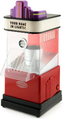 Nostalgia HHP100 8-Cup Hollywood Series Hot Air Popcorn Popper by BUNN
