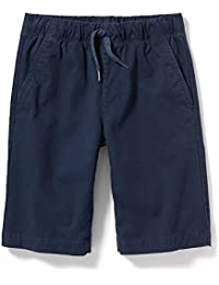 Sale All Year School Built-in Flex Twill Jogger Shorts for Boys! Old Navy