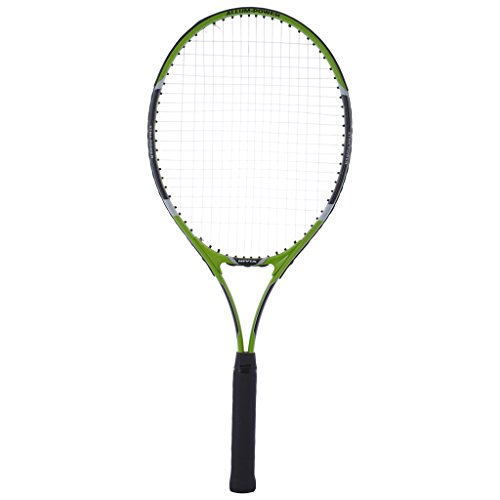 Nivia Attack Ti Adult Graphite Lined Aluminum Tennis Racket  Green
