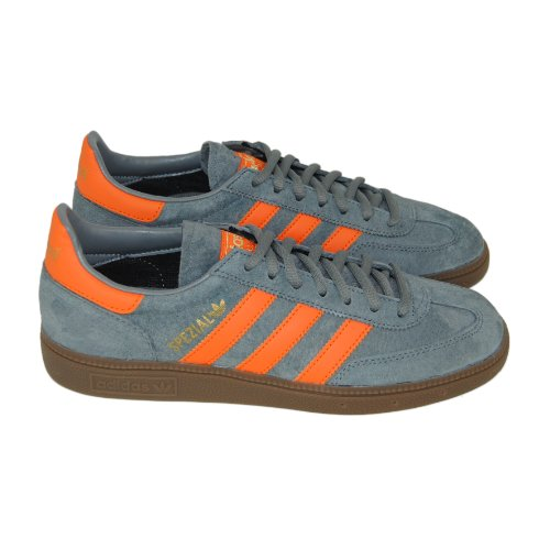 Adidas Mens Spezial Grey Orange Suede Trainers Size 11 UK  Amazon.co.uk   Shoes   Bags d80e5a169dd2