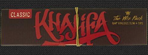 Wiz Khalifa - The Wiz Pack - RAW King Size Slim Papel de fumar y ...