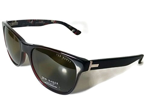 New Authentic Ted Baker B586 Brown Crystal (BRN) Womens Wayfarer Sunglasses - Ted Baker Sunglasses