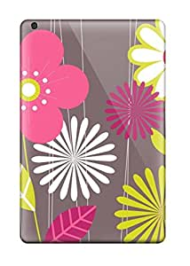 High-quality Durability Case For Ipad Mini/mini 2(funky Flower Drawing )