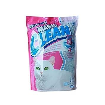 Arena para gatos Mágico Clean 12 x 5 Litros (60 Litro): Amazon.es: Productos para mascotas