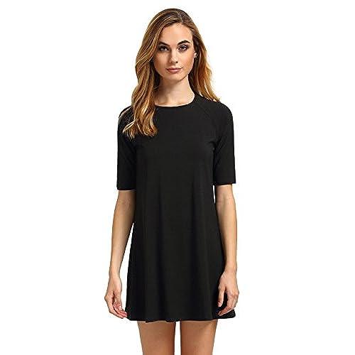 black tee shirt dress. Black Bedroom Furniture Sets. Home Design Ideas