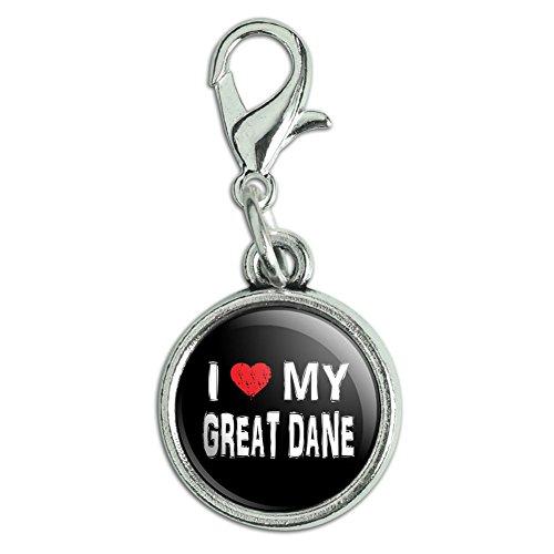 Great DaneZipper Pull Charm