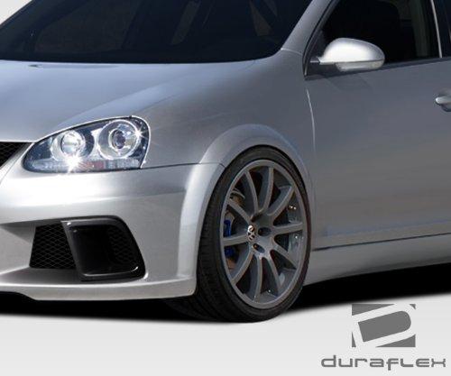 Duraflex Replacement for 2005-2010 Volkswagen Jetta R-GT Wide Body Fender Flares - 4 Piece