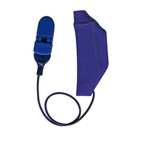 ear-gear-hearing-aid-protection-mono-corded-for-cochlear-devices-in-blue