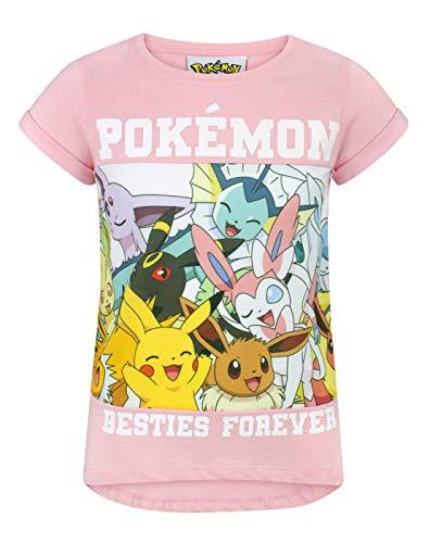 Pokemon Besties Forever Girls T-Shirt (5-6 Years) -